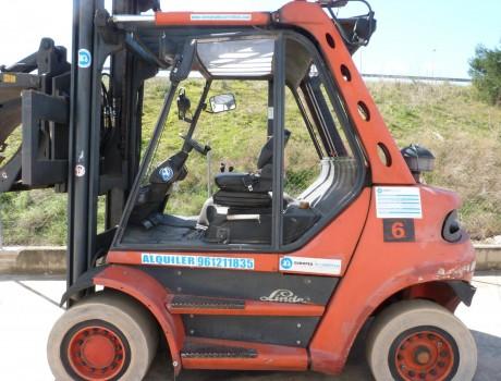 Carretilla Diesel Industrial LINDE H60D