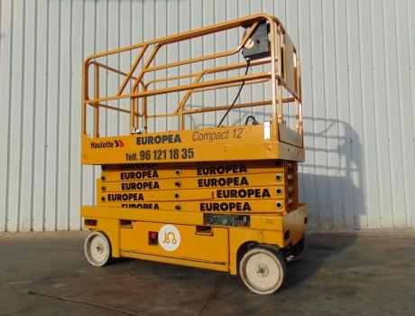 Plataforma Tijera Electrica HAULOTTE COMPACT 12