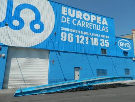 Rampa Muelle EUROPEA LR10188