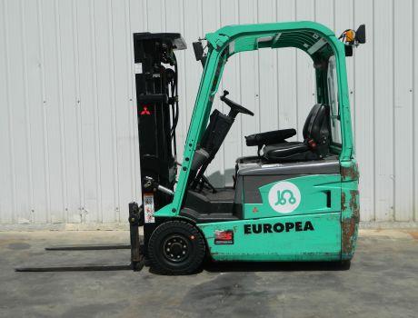 Carretilla Elevadora Electrica 3 ruedas MITSUBISHI FB16NT
