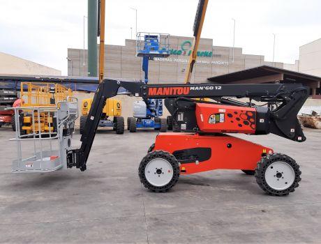 Plataforma Articulada Diesel MANITOU MAN GO 12