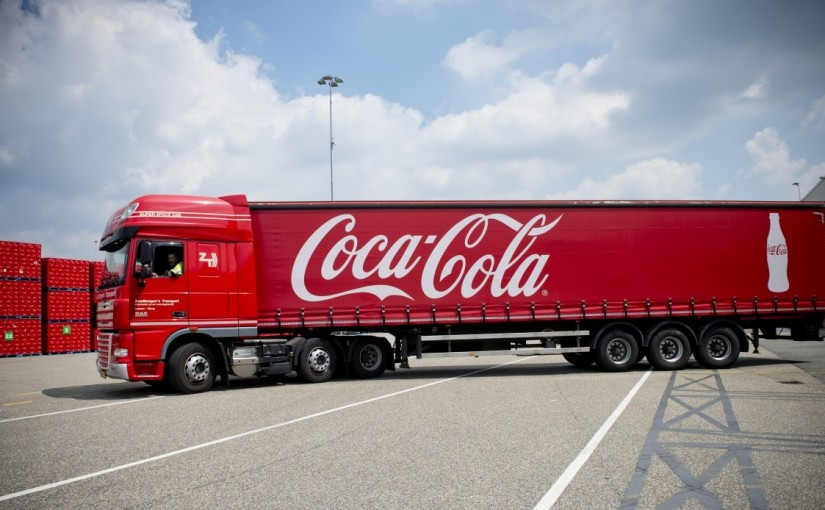 Las nuevas carretillas elevadoras de Coca-Cola aumenta su productividad en Holanda