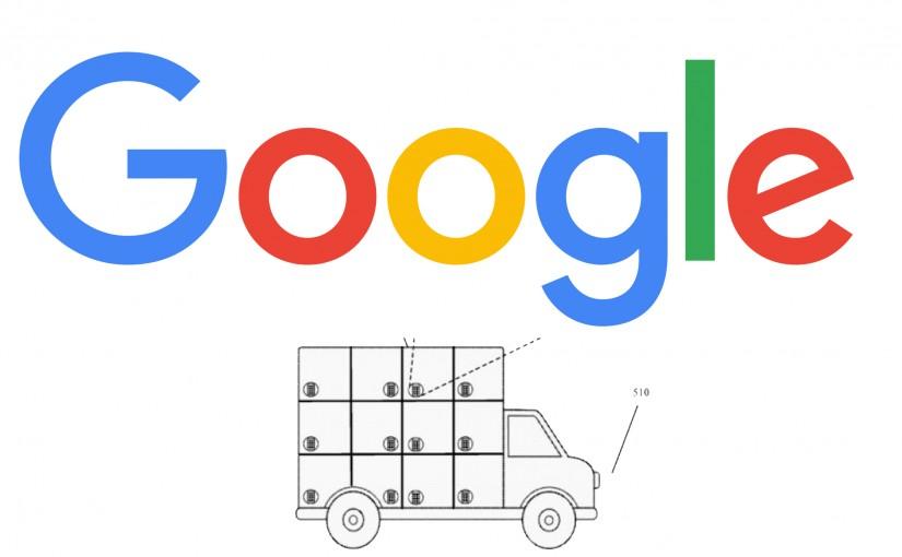 Google patenta un vehículo guiado para repartir paquetería