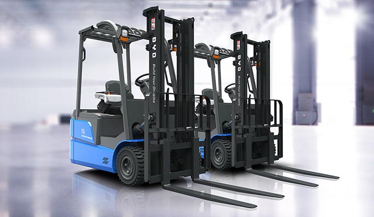 BYD Forklift, la revolución en carretillas eléctricas