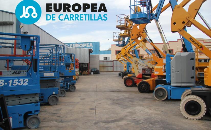 Entrevistamos a Vicente Palop, técnico especializado en seguridad y productividad en altura en Europea de Carretillas