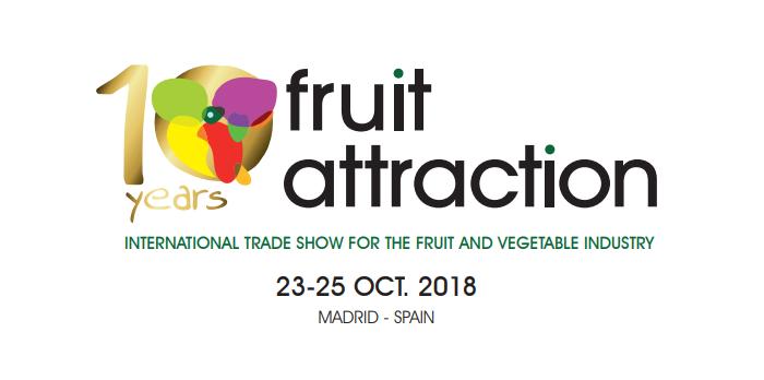 Las carretillas de BYD estarán en Fruit Attraction 2018