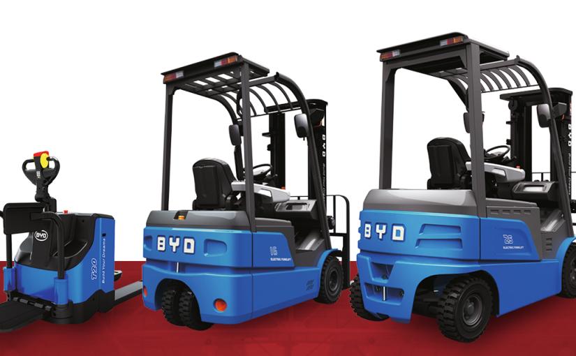Las carretillas litio de BYD, el mejor fichaje para mejorar los resultados de tu empresa