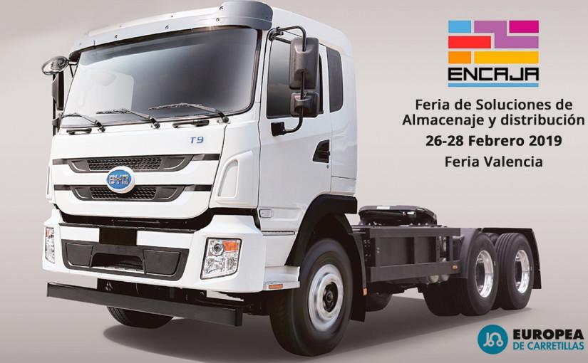 Ven a Feria Encaja 2019 y descubre los nuevos camiones eléctricos de BYD