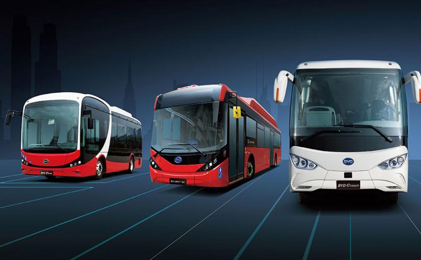 BYD firma 15 autobuses eléctricos con EMT Madrid
