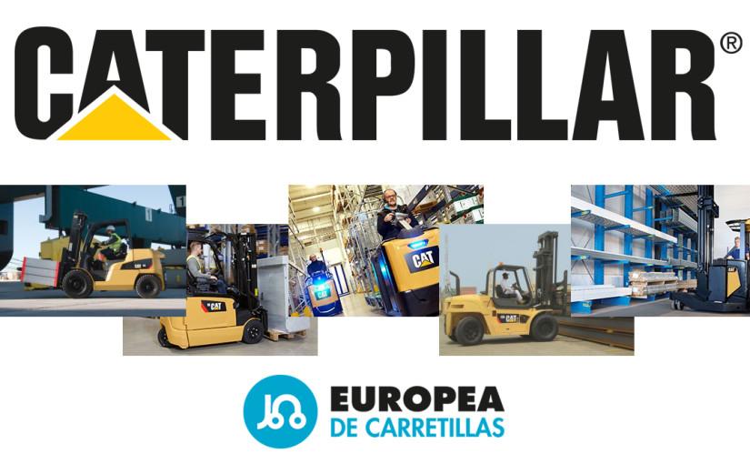 Caterpillar elige a Europea de Carretillas como concesionario oficial