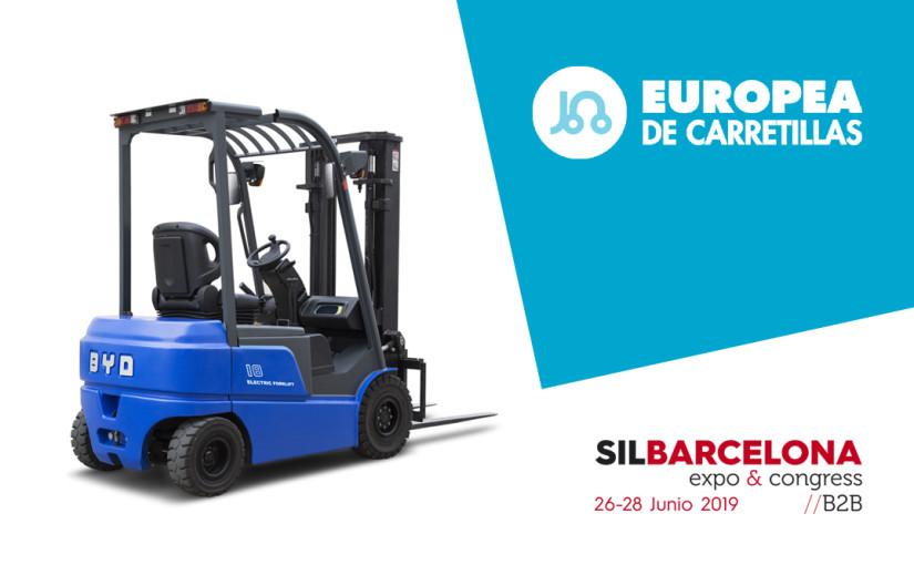 Europea de Carretillas estará como distribuidor BYD en SIL Barcelona 2019